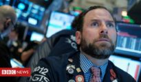 US trading halted as shares plunge around the world