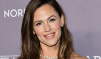 Jennifer Garner Wears a Rainbow Sweater While Styling Her Own Hair on Instagram