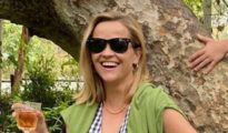 Reese Witherspoon Wore Draper James and Birkenstocks