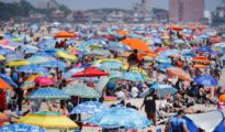 US coronavirus: Some celebrated July Fourth virtually while others packed beaches despite surge in cases
