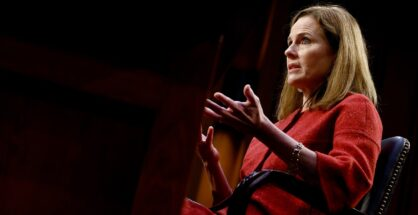 The Amy Coney Barrett Supreme Court Hearings Are an Enlightening Sham